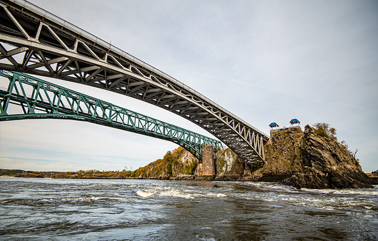 bridge over the Bay of Fundy